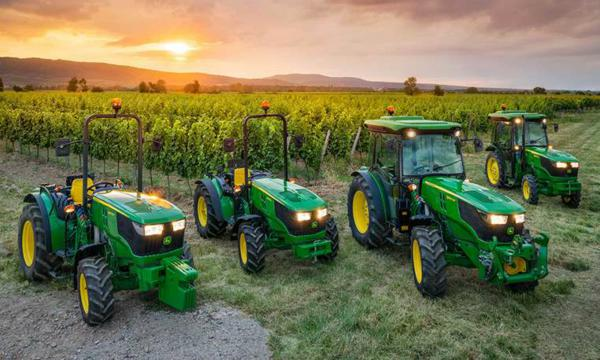 Tractores fruteros John Deere