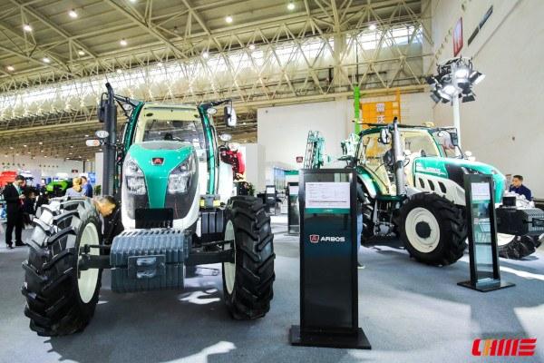 Stand de tractores Arbos en CIAME 2018