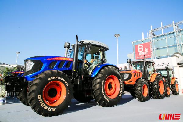 Tractores chinos de alta potencia