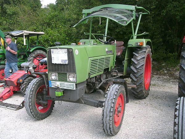 Tractor Fendt Farmer 3S con parasol