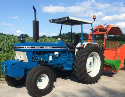 Tractor Ford 7810