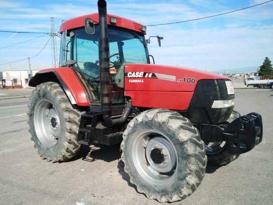 Tractor de media potencia Case MX100