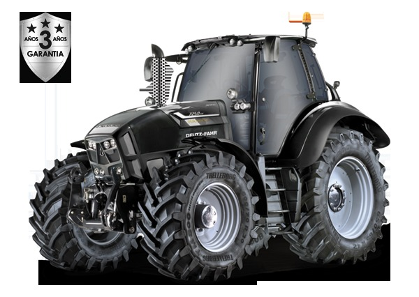 Tractor Deutz Fahr Warrior 7250 250cv