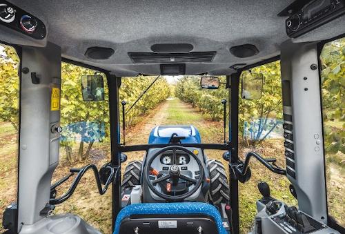Cabina de tractor New Holland T4