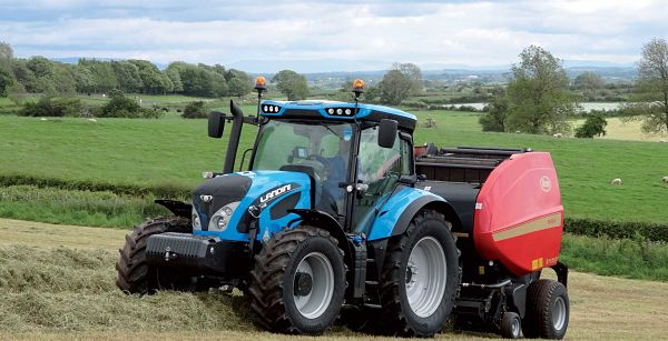Tractor grupo ARGO, marca Landini