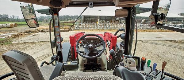 Cabina de un tractor Case IH Versum CVXDrive