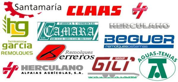 Algunas de las marcas que venden remolques en España