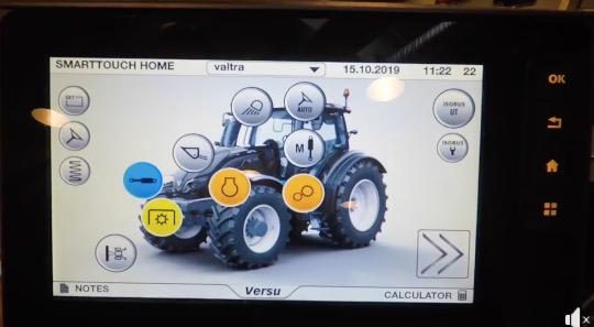 Asistente Hidráulico Automático de Valtra