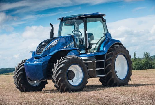 Tractor New Holland de Metano