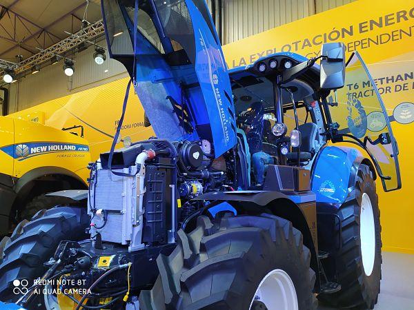 Tractor de Metano en FIMA 2020