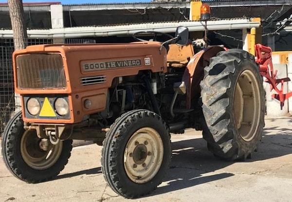 Tractor 5000 IH Viñero R