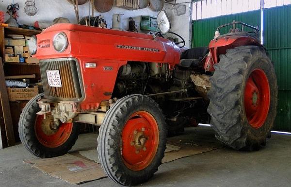 Tractor Barreiros 7000 de 1977