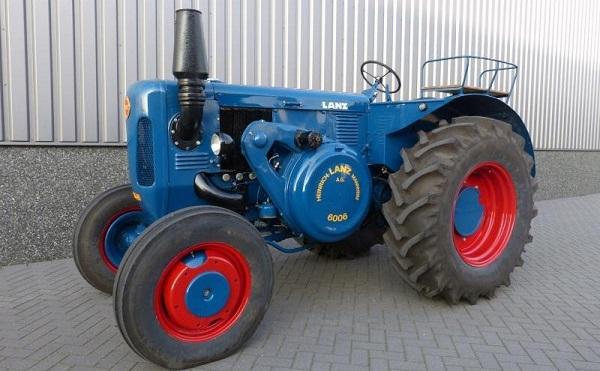 Tractor Lanz Bulldog D-6006