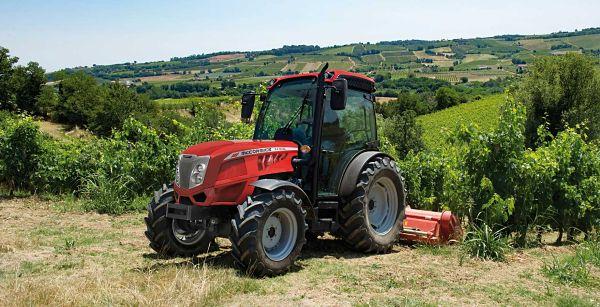 Tractor frutero McCormick X4 F XL