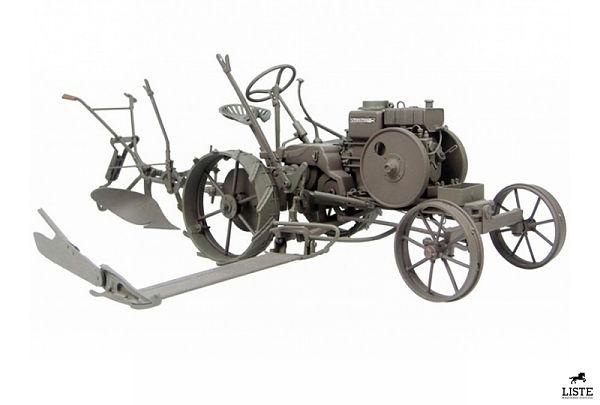 Mulo Diesel, primer tractor Fendt