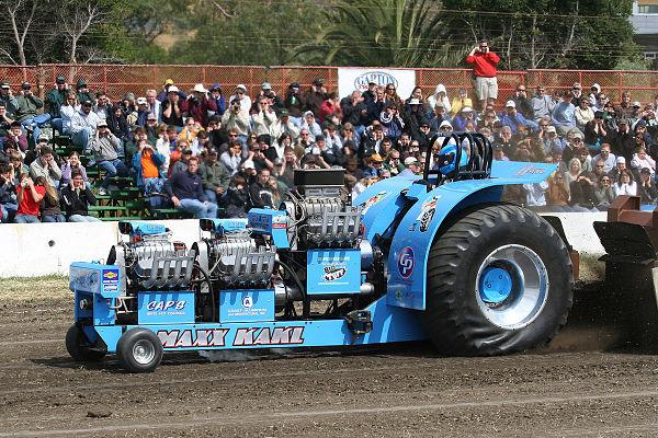 Tractor de 8000 CV para Tractor Pulling