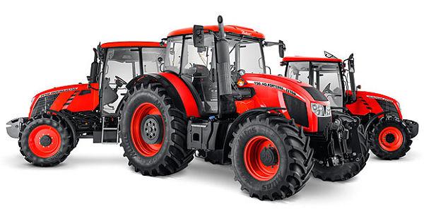 Gama de tractores Zetor
