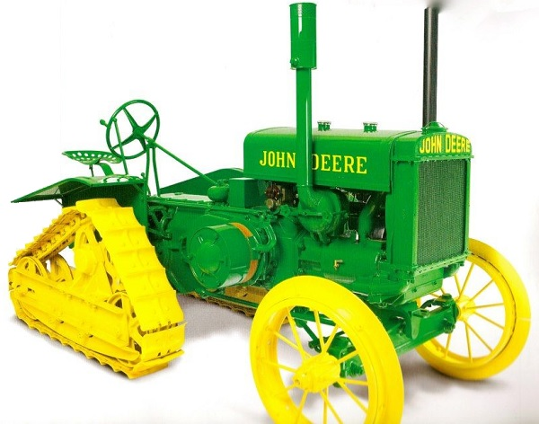 "John Deere Model D ""Half-Track"" Crawler"