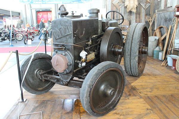 Landini 25/30, primer tractor de la marca