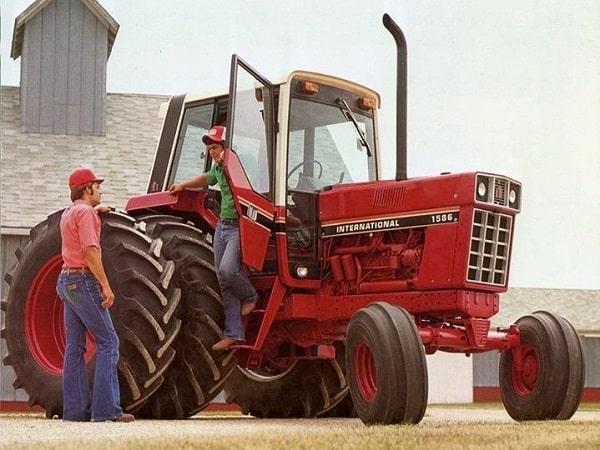 Tractor International 1586 de 1979