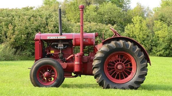 Tractor McCormick-Deering W-30 de 1937