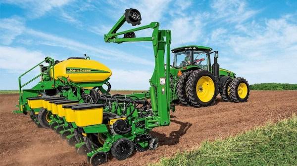 Sembradora John Deere para cultivos herbáceos