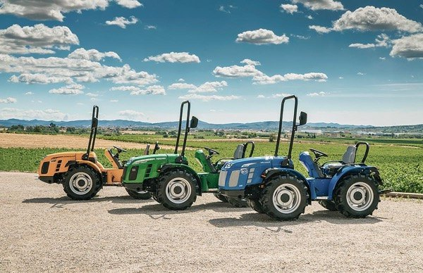 Tractores reversibles del grupo BCS
