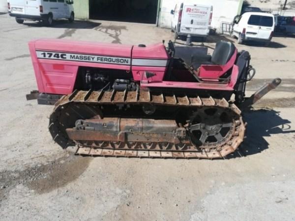 Tractor de cadenas Massey Ferguson 174c