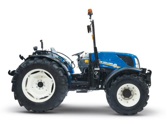 New Holland,T4.100lp ROPS. Tractor de doble tracción estrecho nuevo