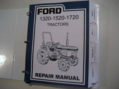 ford      tractor service manual