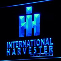 International Harvester Tractor LED Neon Sign Man Cave D133-B
