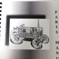 Mitsubishi MT2201(D) & MT2501(D) Tractor Parts Manual