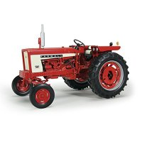 1:16-Scale International Harvester Farmall 504 Gas Wide Front With Weights Diecast Tractor by The Hamilton Collection