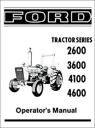 COMPLETE & UNABRIDGED FORD TRACTOR 2600, 3600, 4100, 4600
