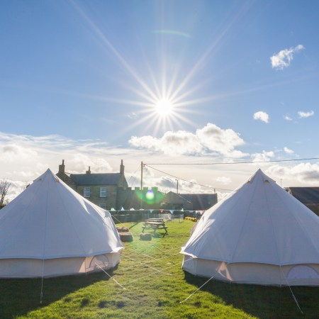 Glamping Hire Northumberland Weddings