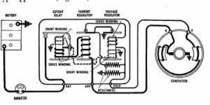 Voltage Regulator Wiring Diagram  Yesterday's Tractors