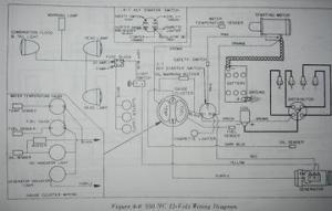Oliver 550 Wiring Diagram  Gasser  Electrical Diagram  TractorShed