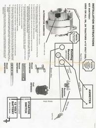 Ford 9N Conversion  Wiring Diagram  TractorShed