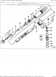 auxiliary valve repair 656  Yesterday's Tractors