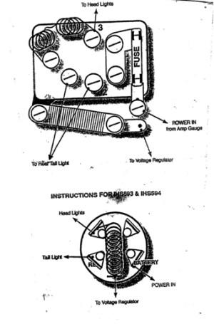 Farmall H Wiring Diagram