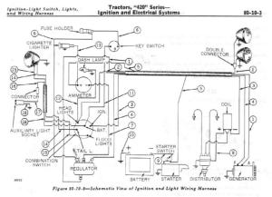 1969 430 gas wiring digrams  MyTractorForum  The
