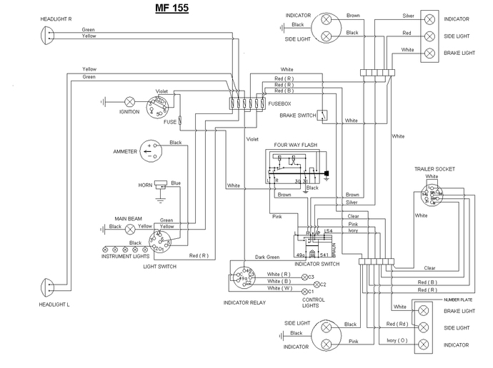 a22293 farmall m wiring harness diagram wiring diagrams for diy car repairs farmall m wiring harness at gsmx.co