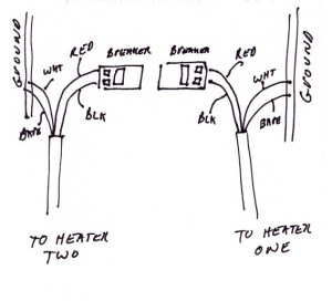 Baseboard Heater Wiring Question  Yesterday's Tractors