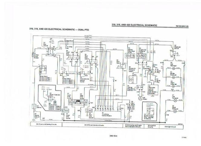 john deere wiring diagrams Wiring Diagram – John Deere 4020 Wiring Diagram