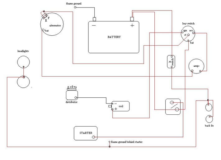 Alternator Wiring Diagram Ford Tractor. Gandul. 45.77.79.119 on
