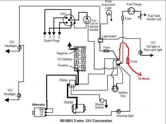 ford 4000 tractor electrical diagram  wiring diagram for