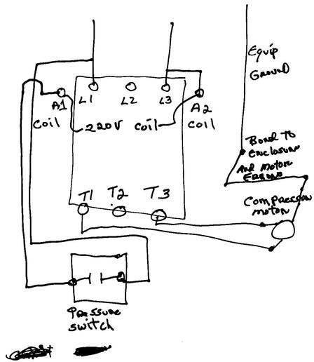 Square D 3 Phase Motor Starter Wiring Diagram