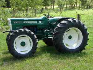 Used Farm Tractors for Sale: Oliver 1255 1970 4X4
