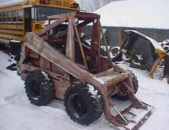 Used Farm Tractors For Sale New Holland L35 Skidsteer