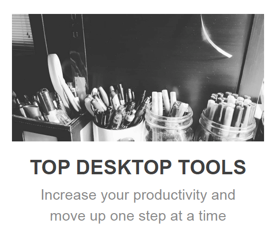 Top Desktop Tools